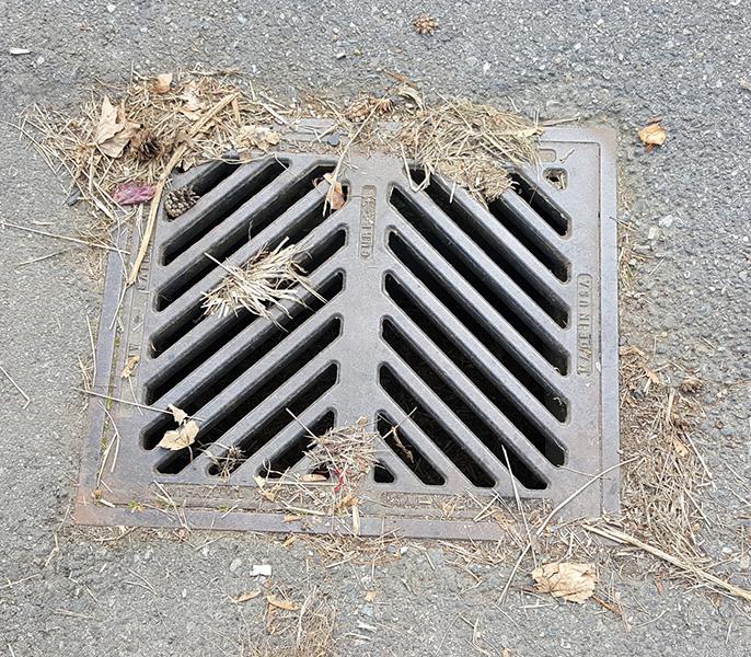 street catch basin
